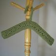 毛糸のハンガー