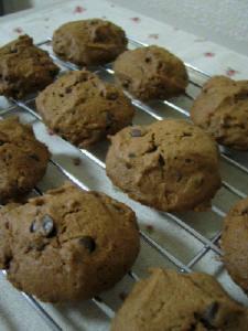 ドロップクッキー☆ココア&チョコチップ